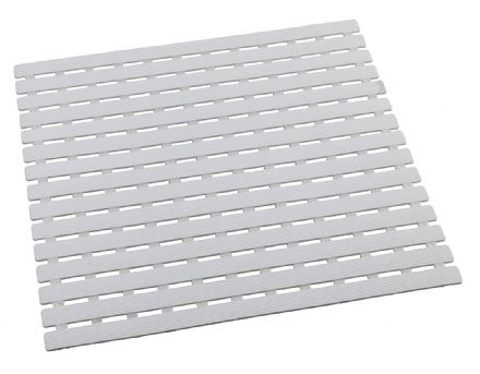 Wenko Arinos White Shower Mat 54 x 54 cm